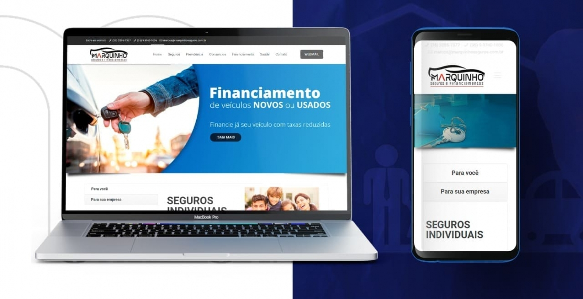 MARQUINHO SEGUROS - CASES - MZZI Think Digital